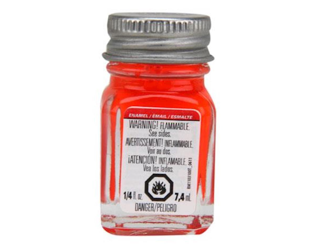 Enamel 1/4oz, Red Fluorescent by Testors