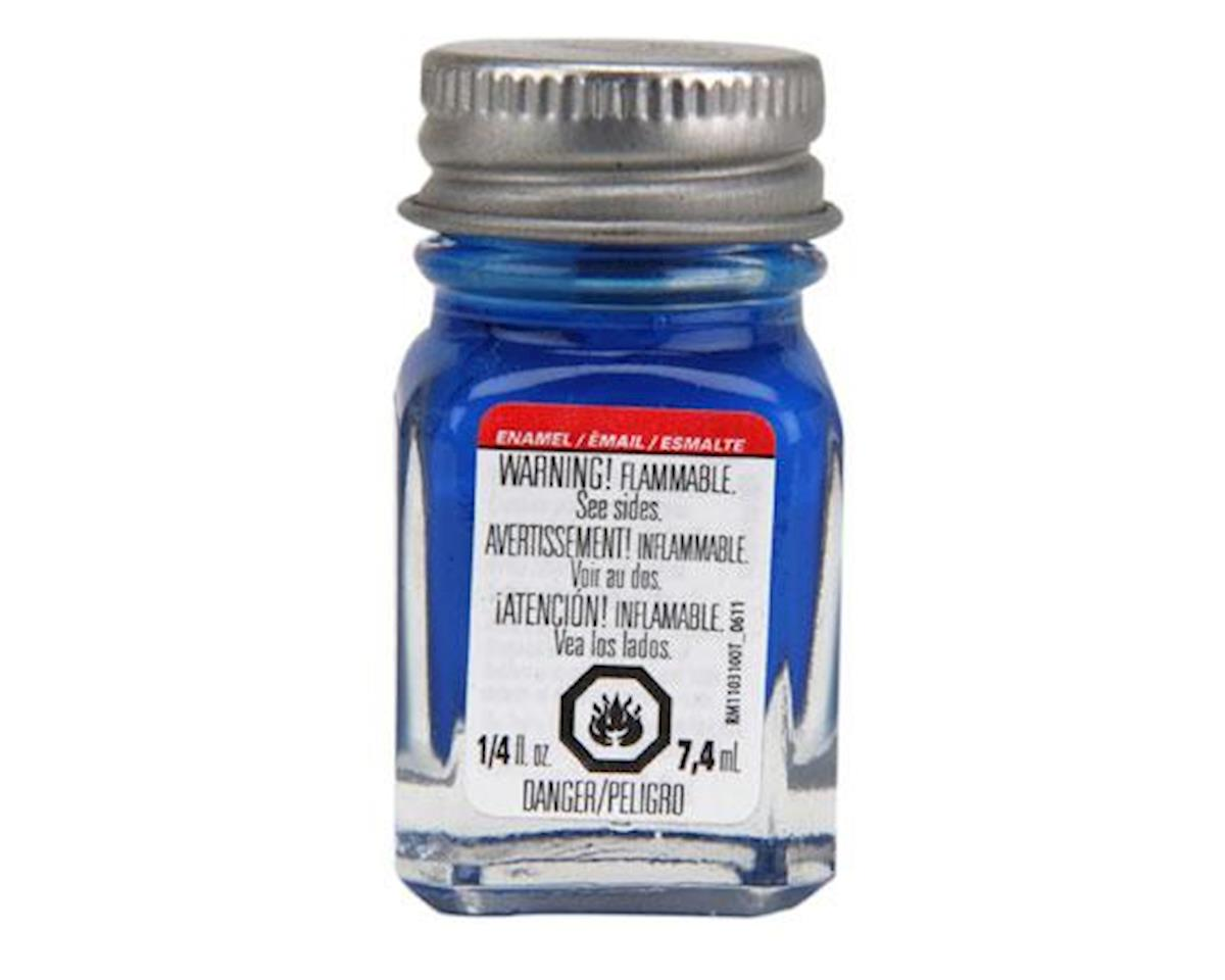 Enamel 1/4oz, Blue Fluorescent by Testors