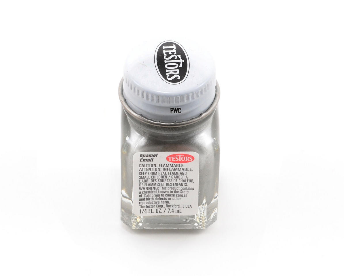 Testors Steel Enamel Paint 1/4oz