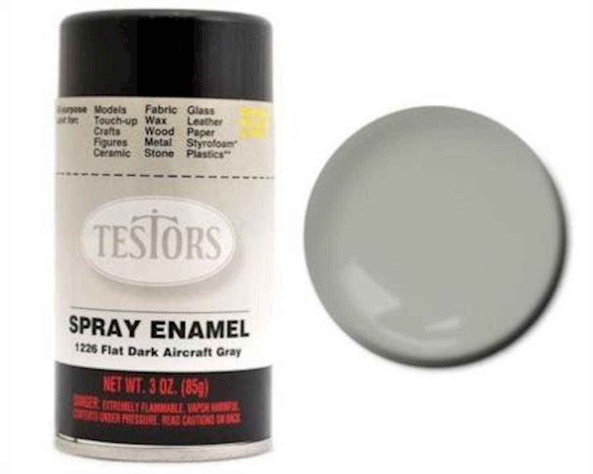 Testors Spray 3oz Dark Aircraft Gray