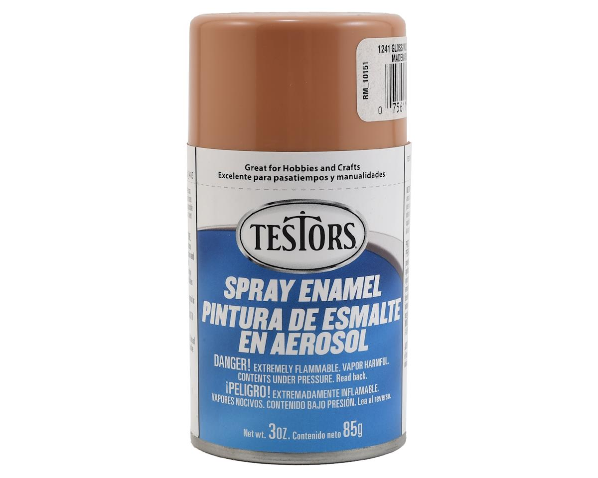 Testors Spray 3oz Wood