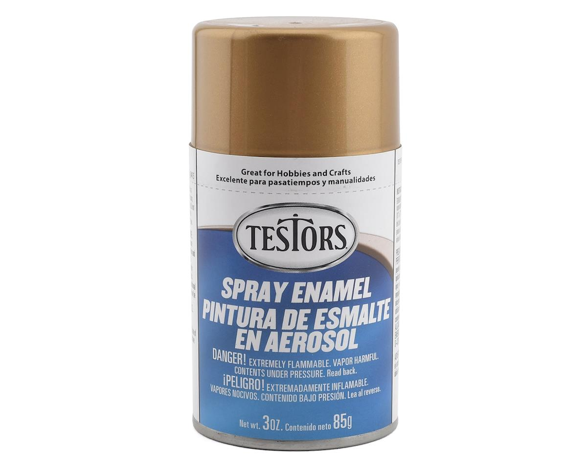 Testors Spray 3oz Gold