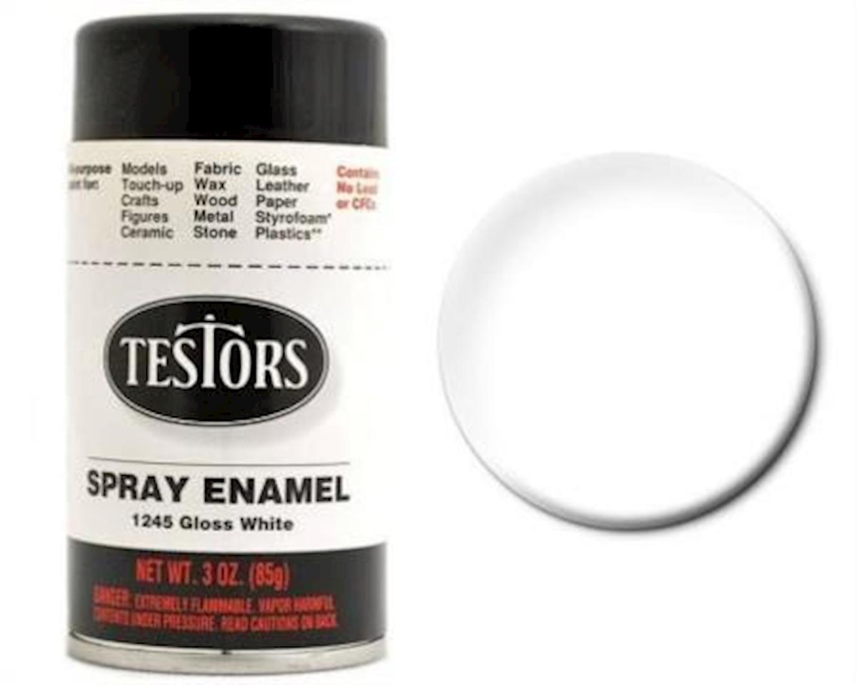 Testors Spray 3oz White