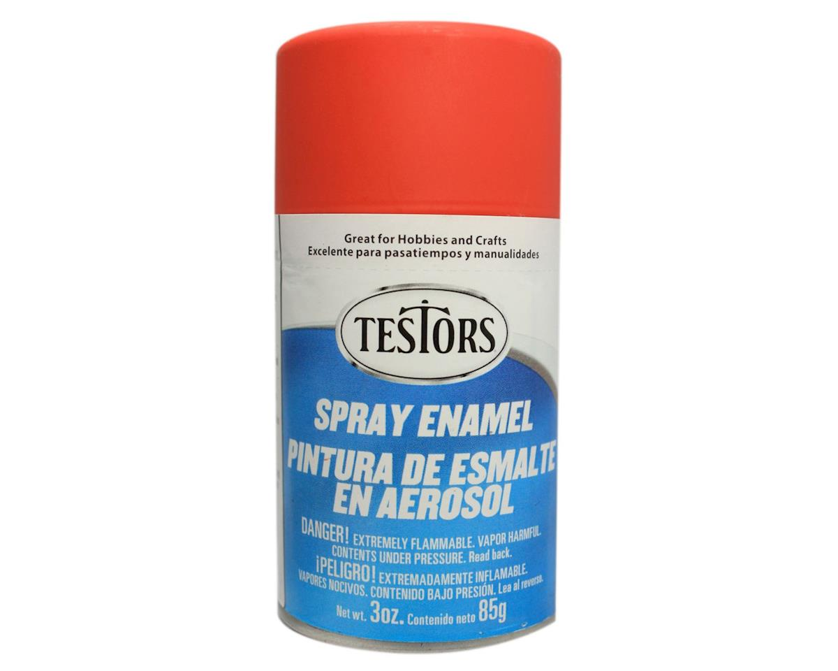 Testors Spray 3oz Flat Red