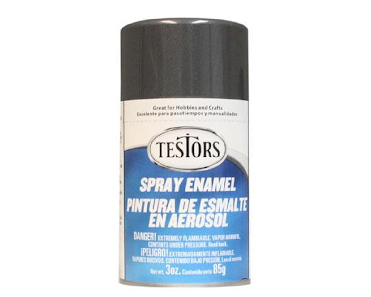 Spray 3oz Graphite Gray Metallc Enamel by Testors