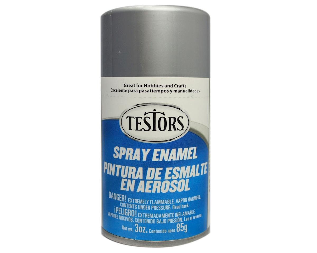 Testors Spray 3oz Chrome