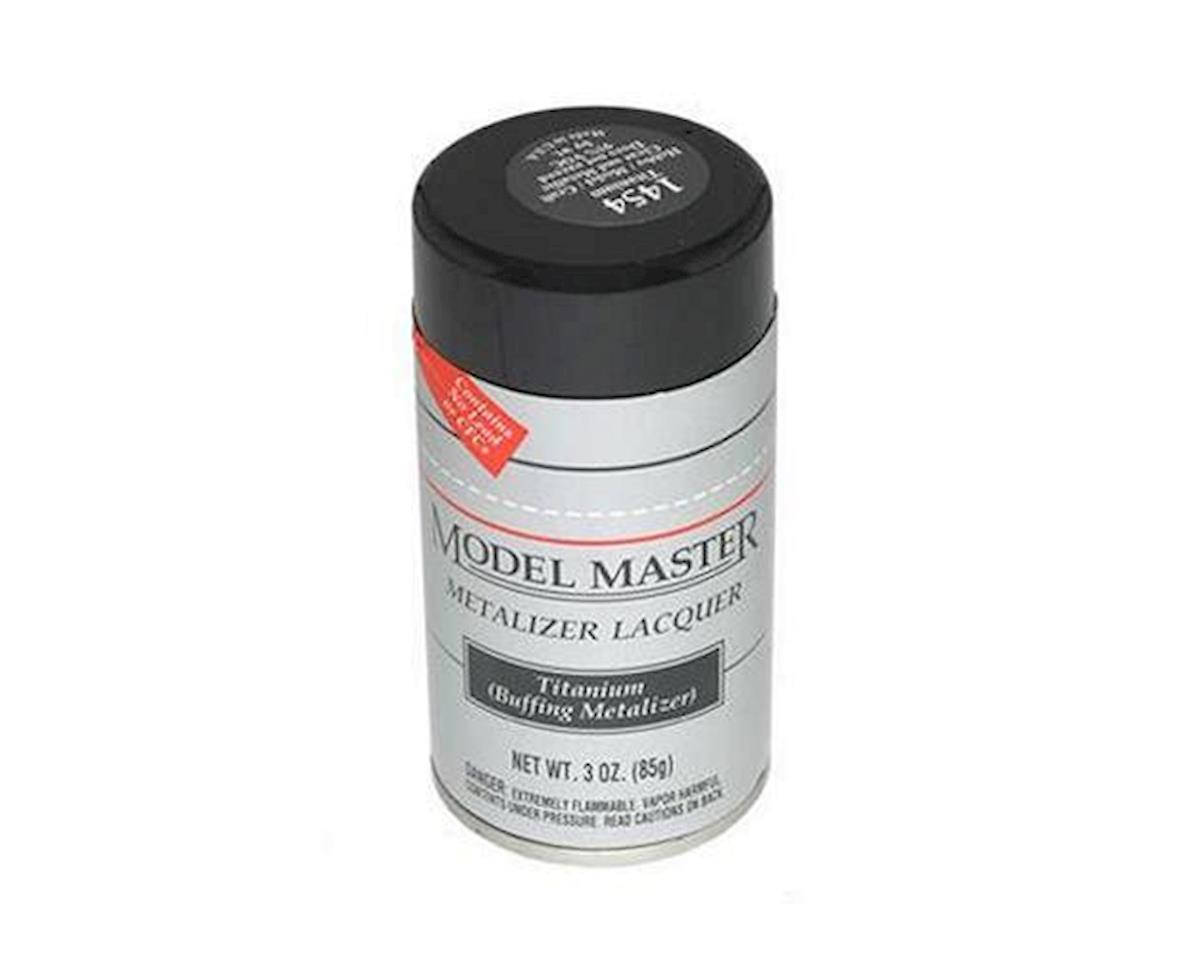 Metalizer Spray Paint (Titanium) (3oz) by Testors