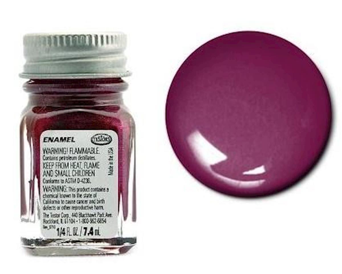 Enamel 1/4oz Metal Flake Purple by Testors
