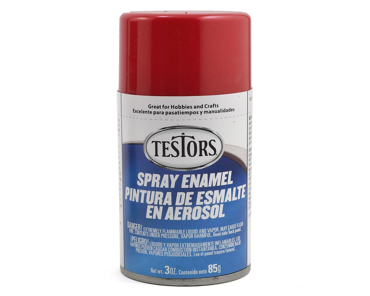 Testors Spray 3oz Ruby Red Metal Flake