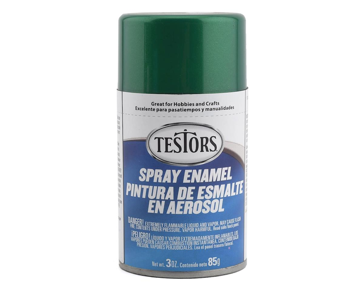 Testors Spray 3oz Jade Green Metal Flake