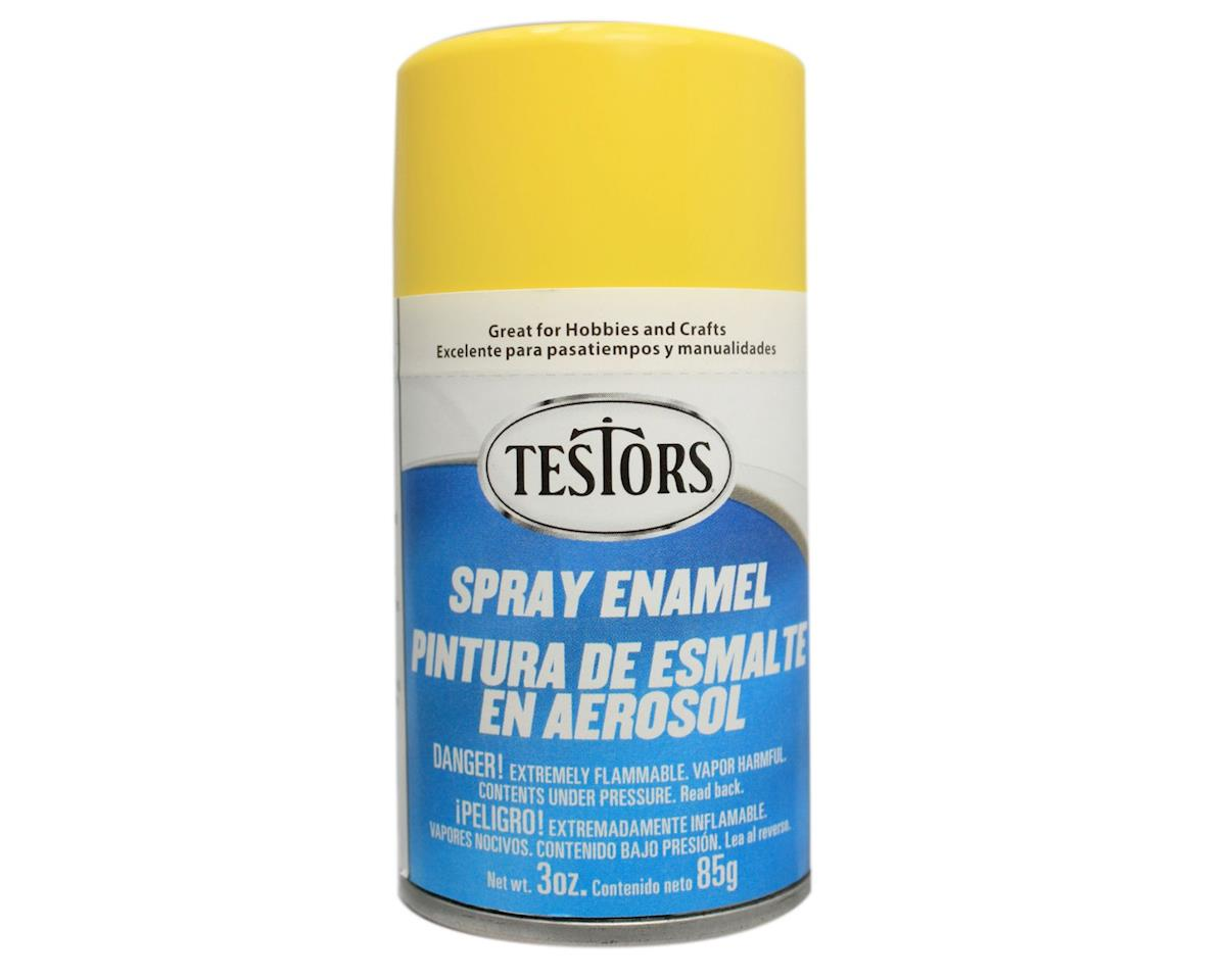Testors Spray 3oz Bug Yellow