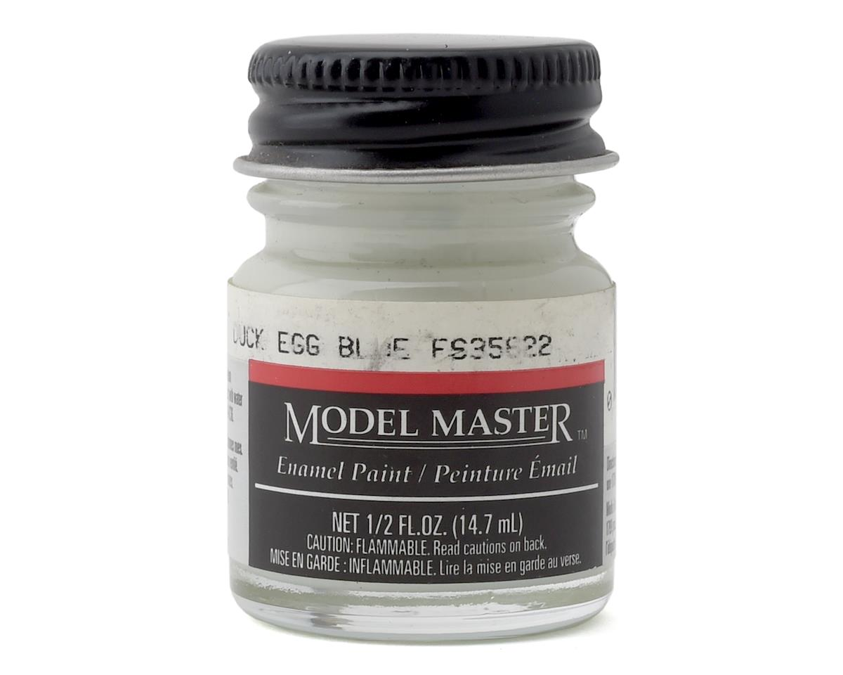 Testors Model Master Duck Egg Blue Enamel Paint  (1/2oz) (FS35622)