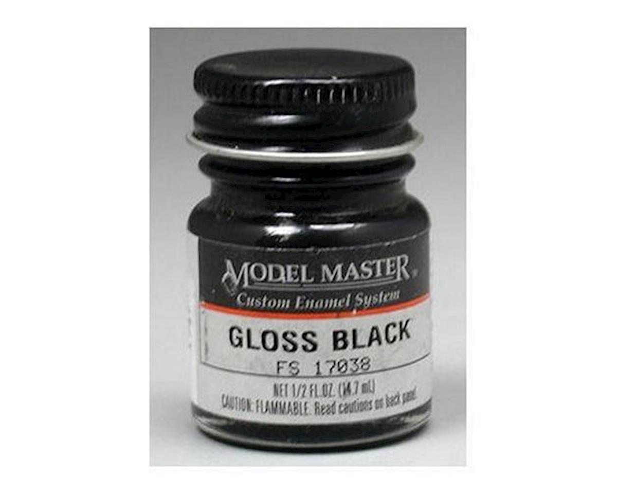 Testors MM FS17038 1/2oz Gloss Black