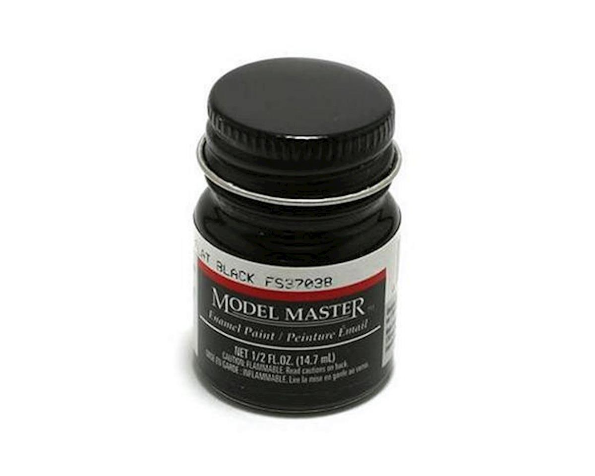 MM FS37038 1/2oz Flat Black by Testors