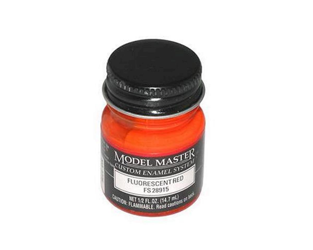 MM FS28915 1/2oz Fluor Red by Testors