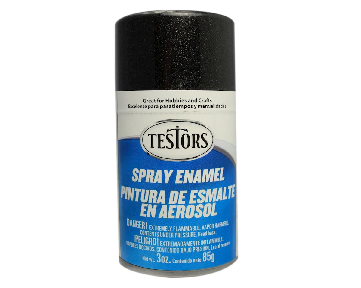 Testors Spray 3oz Black Pearl