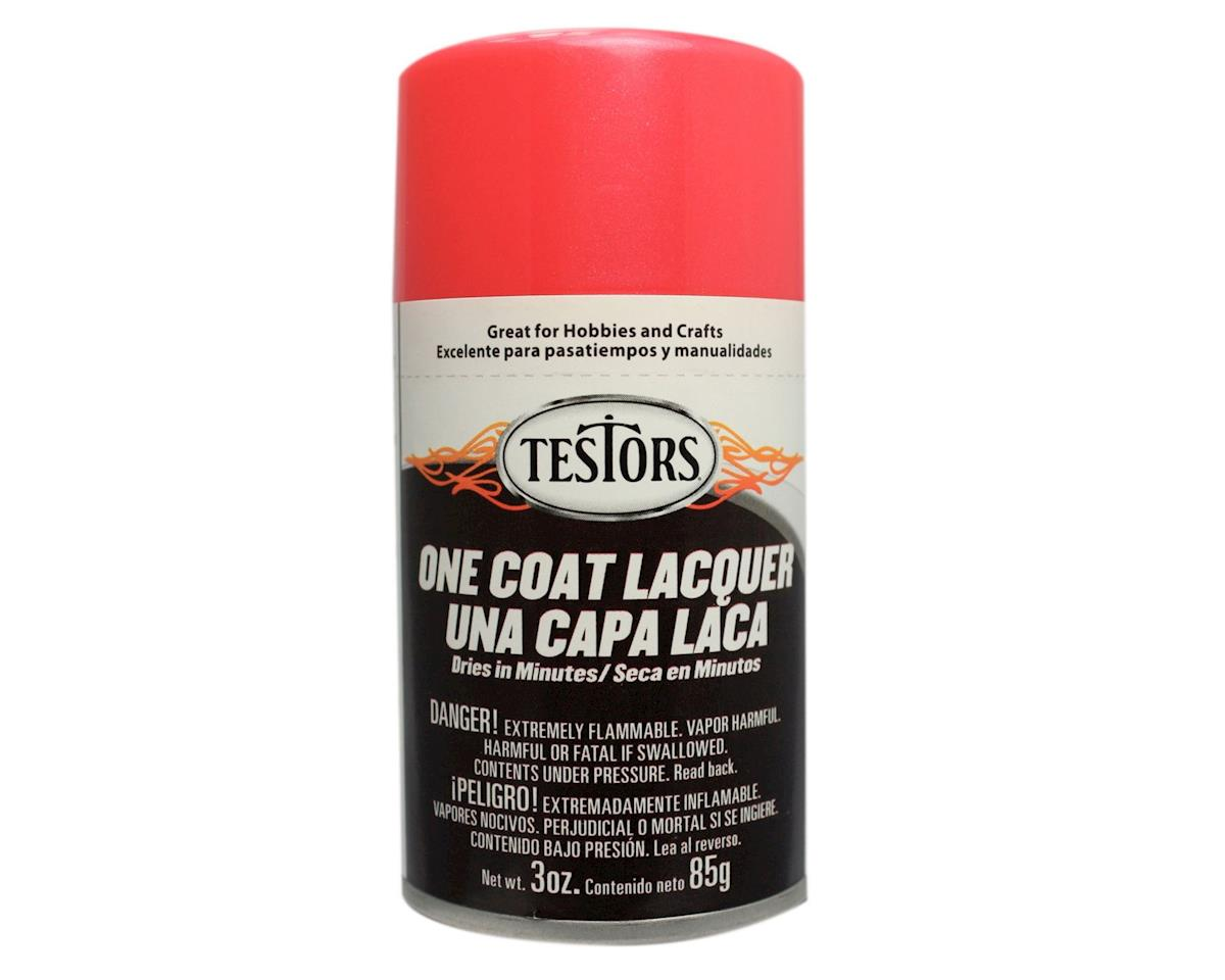 Testors One Coat- Electric Pink, 3oz