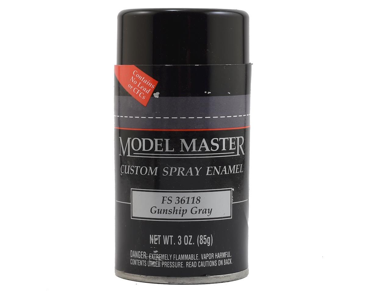Testors MM Spray FS36118 Gunship Gray