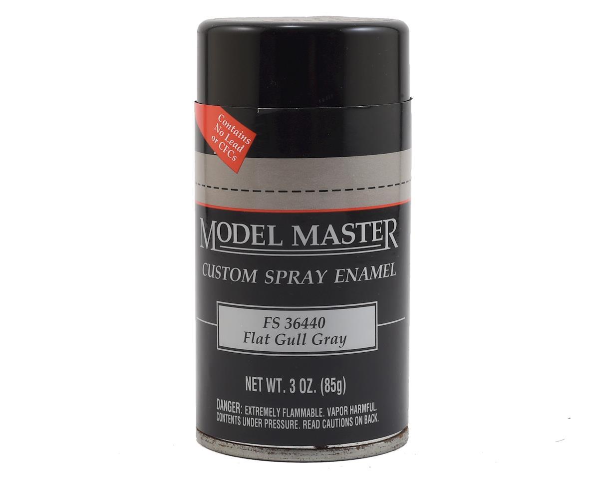 Testors MM Spray FS36440 Flat Gull Gra