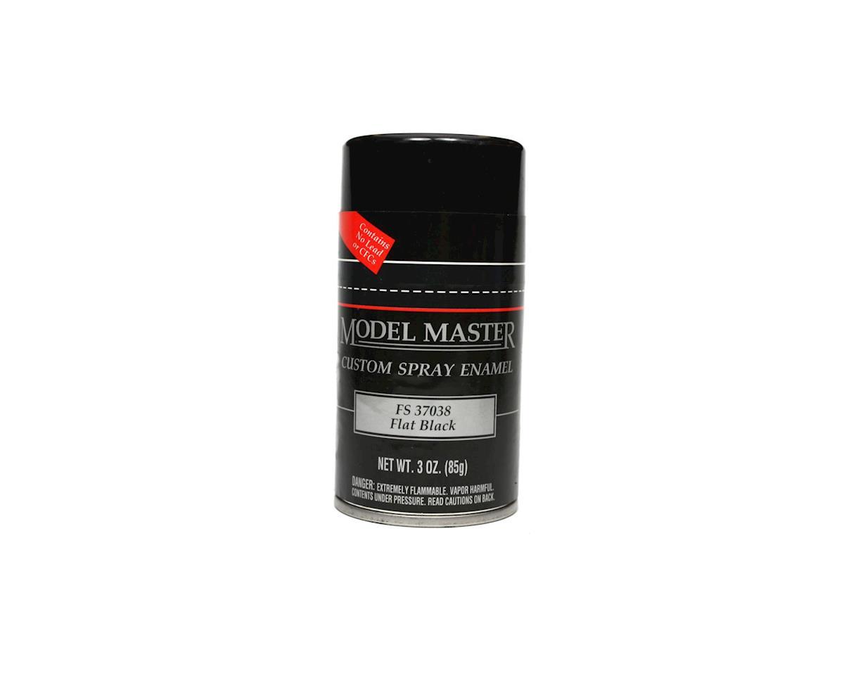 Testors MM Spray FS37038 Flat Black