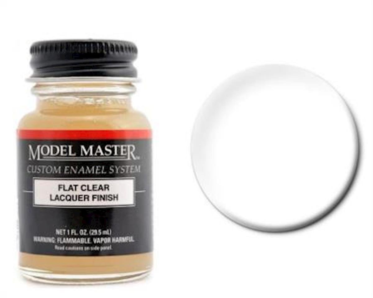 MMII Lacquer 1oz Flat Clear by Testors