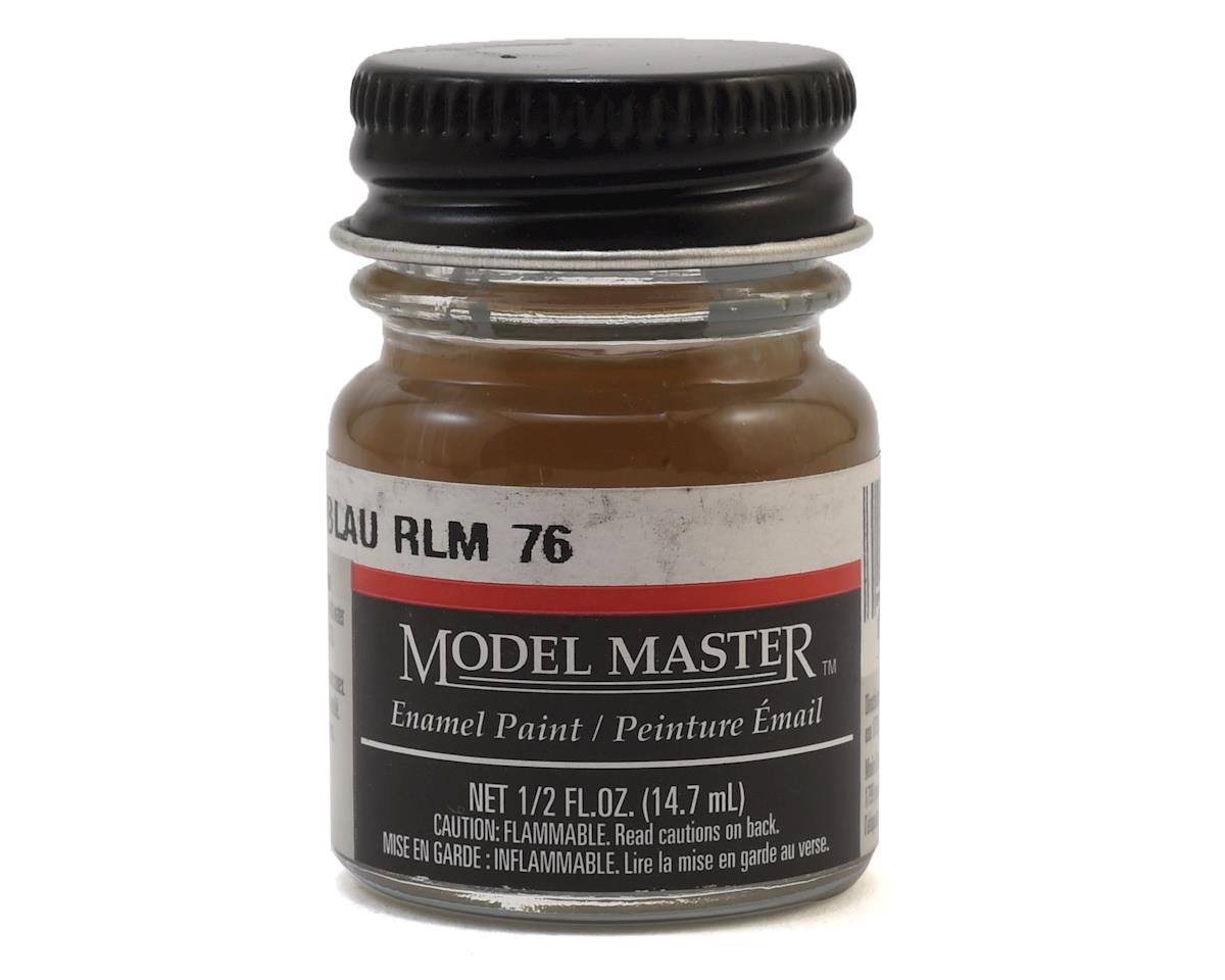Testors Model Master RLM76 Light Blue Enamel Paint (1/2oz)