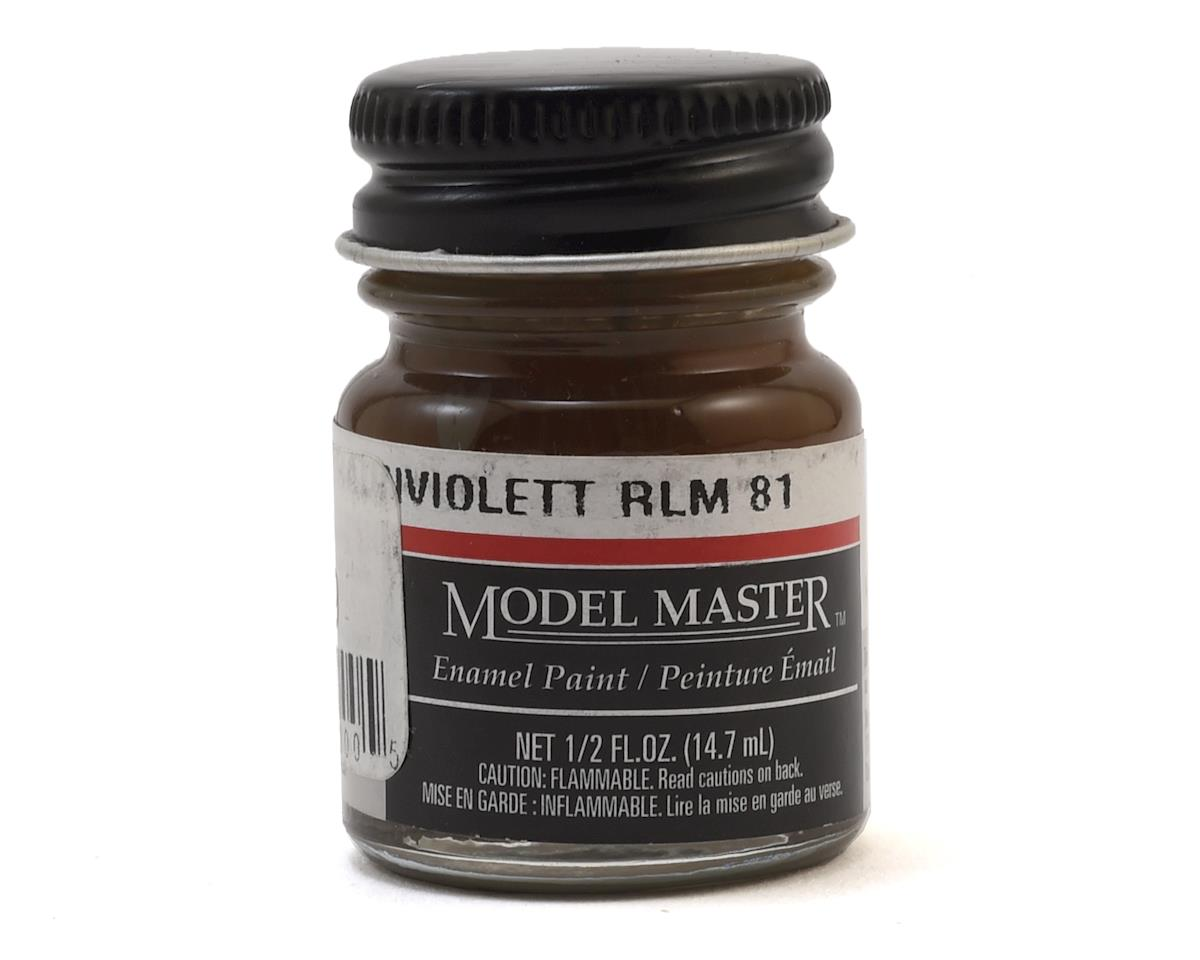 Testors Model Master RLM81 Brown Violet Enamel Paint (1/2oz)