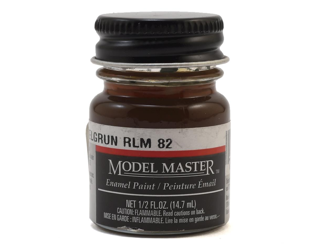 Model Master RLM82 Dark Green Enamel Paint (1/2oz) by Testors