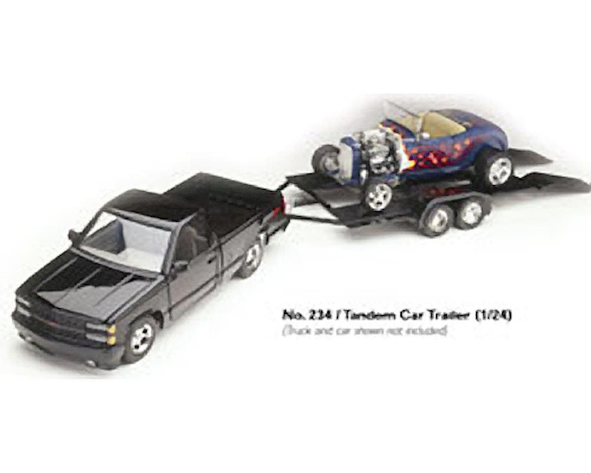 1/24 Tandem Axle Car Trailer by Testors