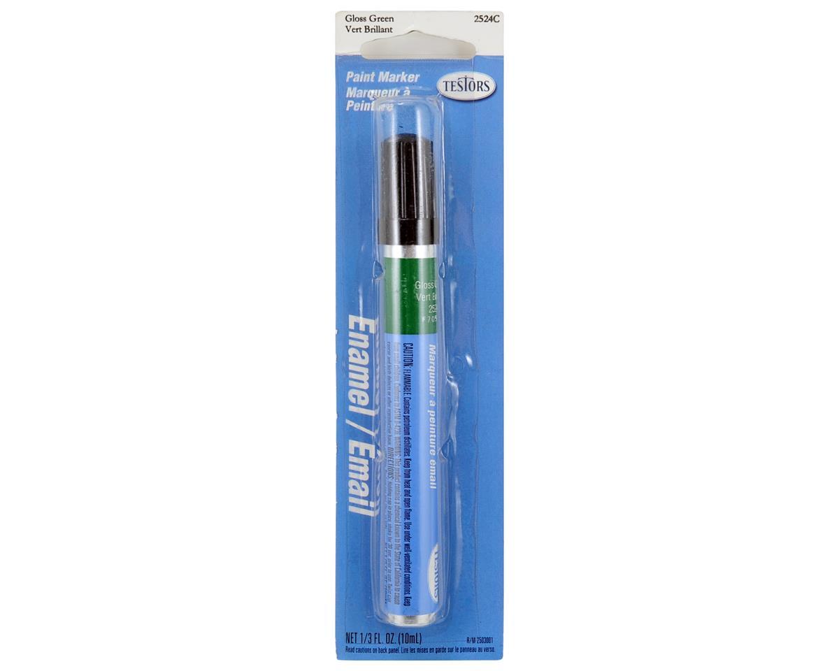 Gloss Enamel Paint Marker (Green) (10ml) by Testors
