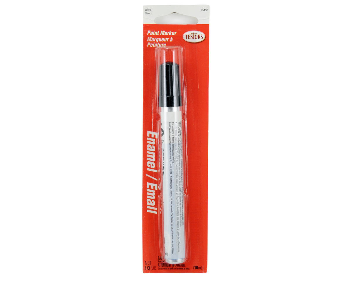 Gloss Enamel Paint Marker (White) (10ml) by Testors