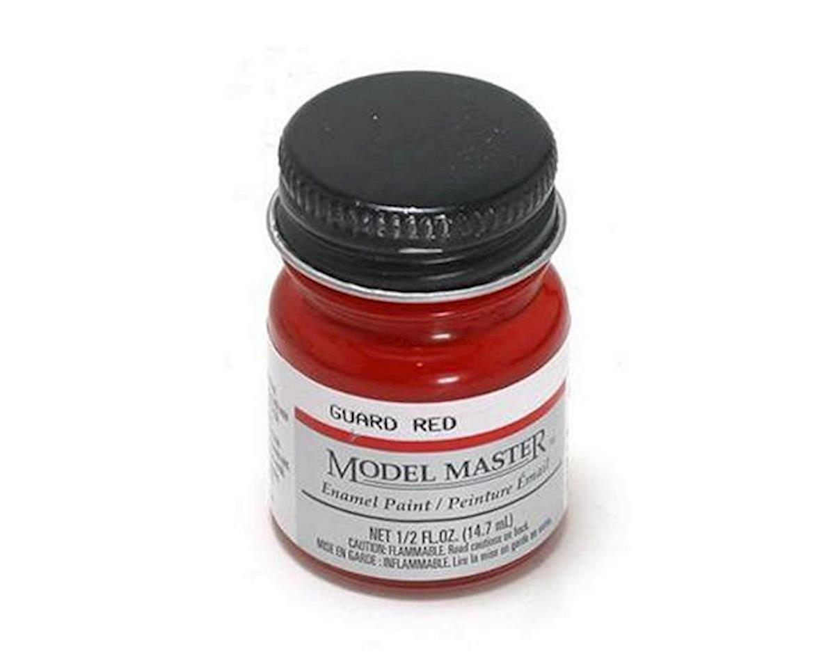 Testors MM Car 1/2oz Guards Red