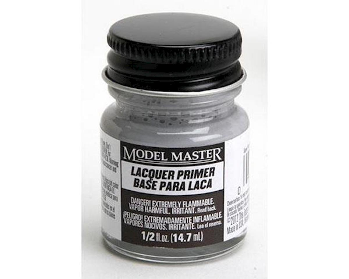 MM 1/2oz Super Fine Gray Lacquer Primer by Testors