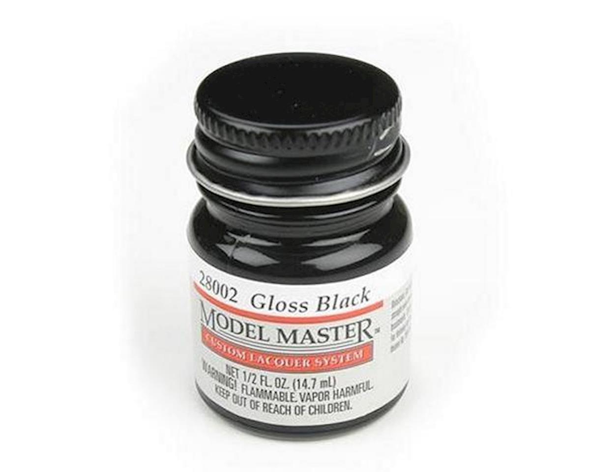 Testors Gloss Black, 1/2oz Bottle