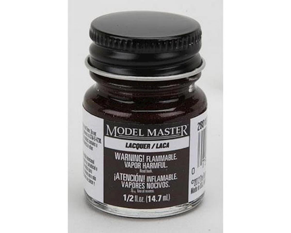 MM 1/2oz Dark Brown Lacquer by Testors