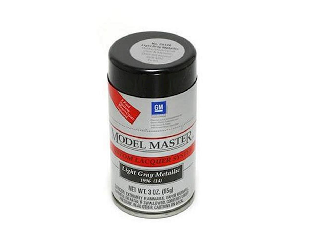 Testors Light Gray Metallic, 3oz Spray