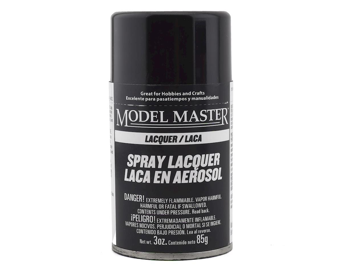 Testors MM 1/2oz Semi Gloss Black Spray