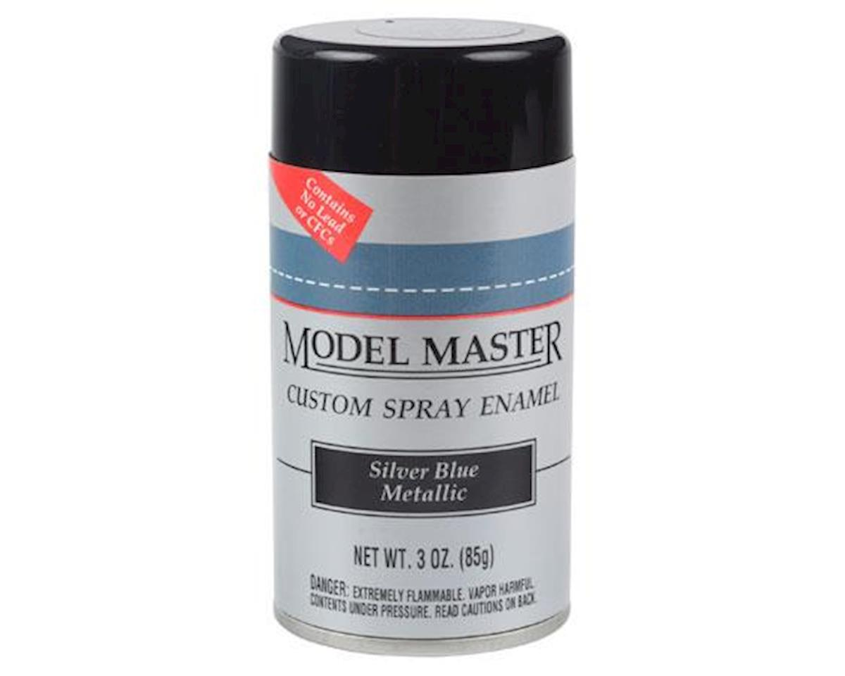 MM Car Spray Silver Blue Met by Testors