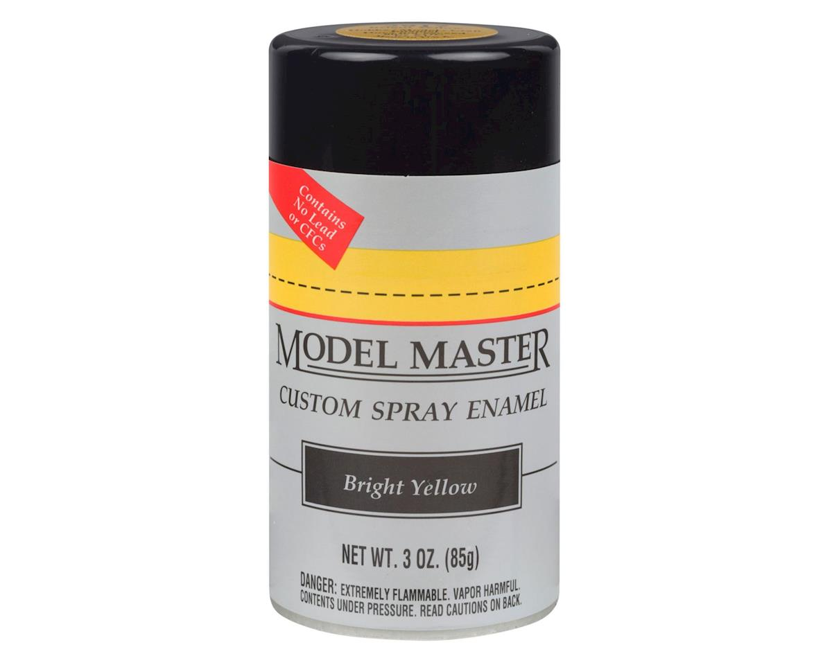 Testors MM Car Spray Bright Yellow