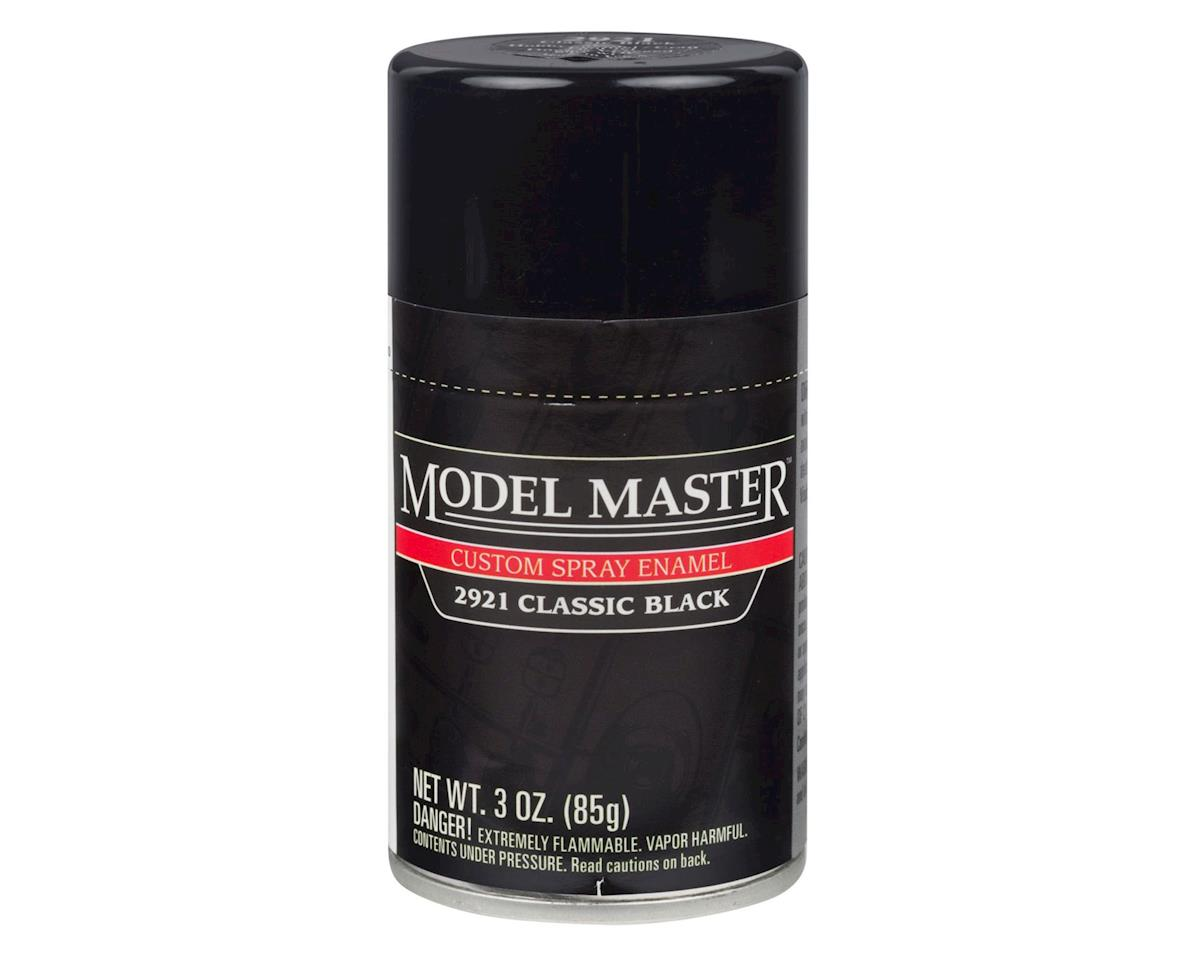 Testors MM Car Spray Classsic Black