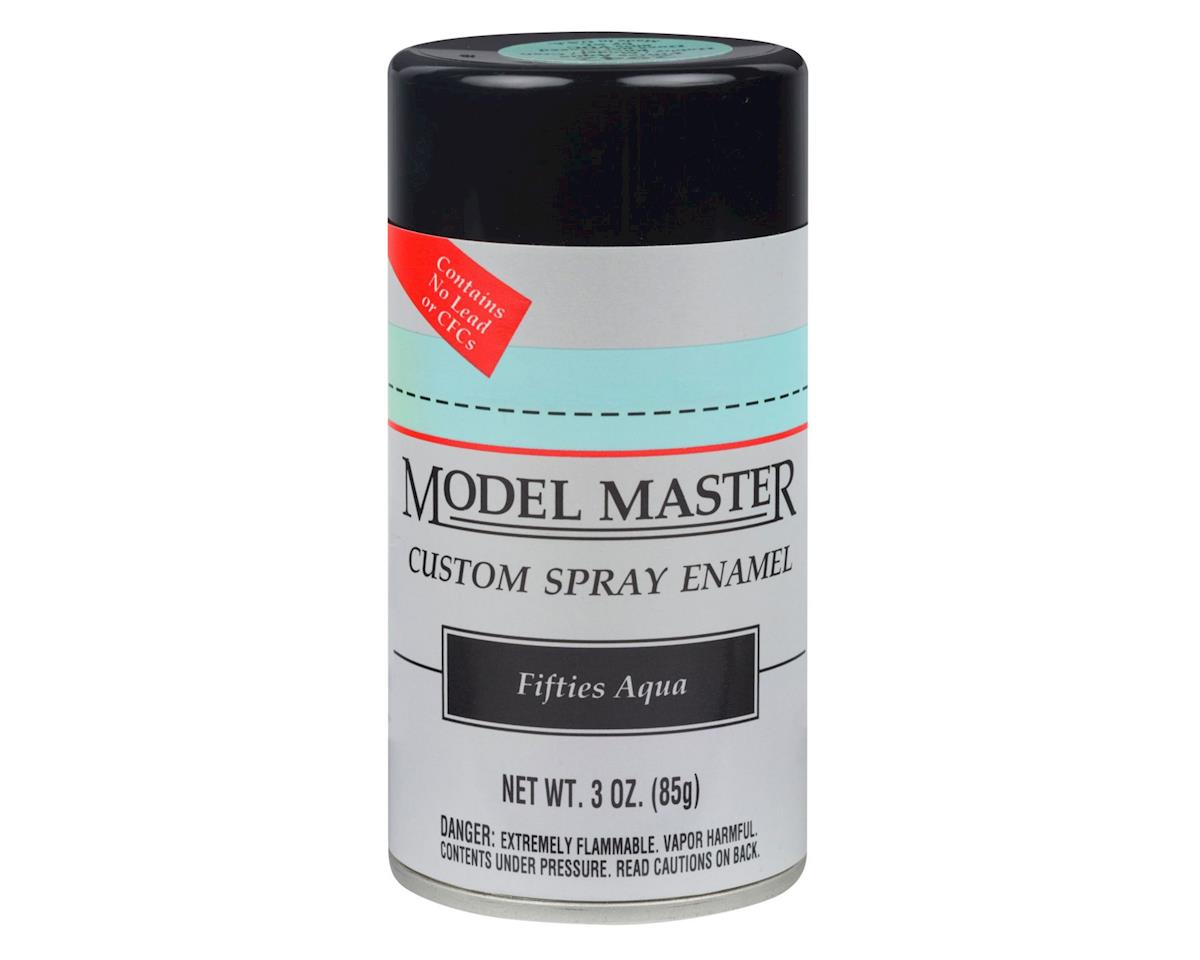 Testors MM Car Spray Fifties Aqua
