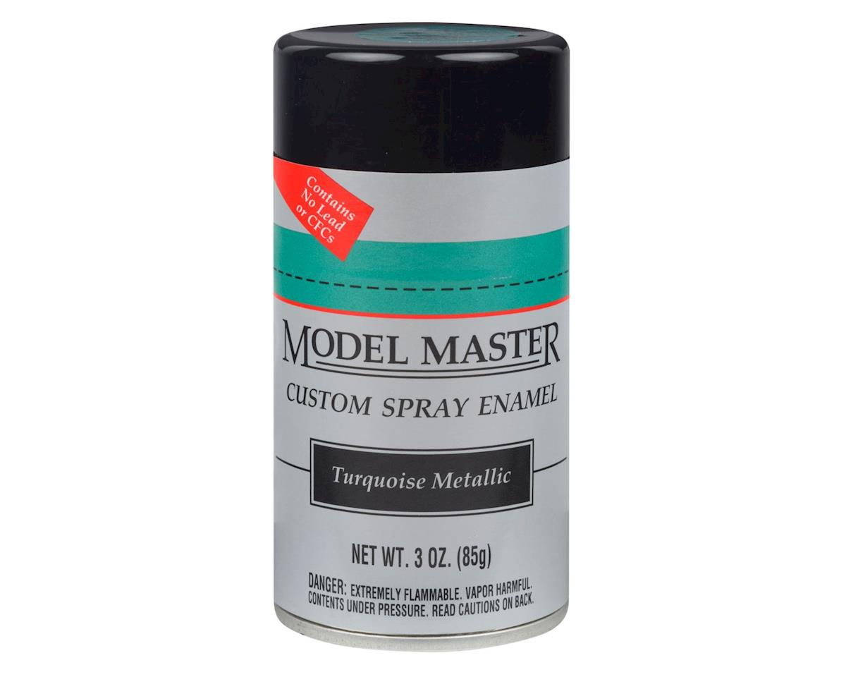 MM Car Spray Turquoise Metallic by Testors