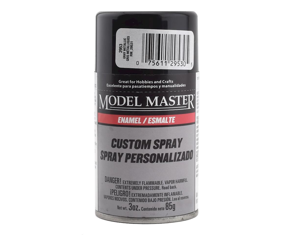 Testors MM 3oz Gray Metallic  Spray (G)