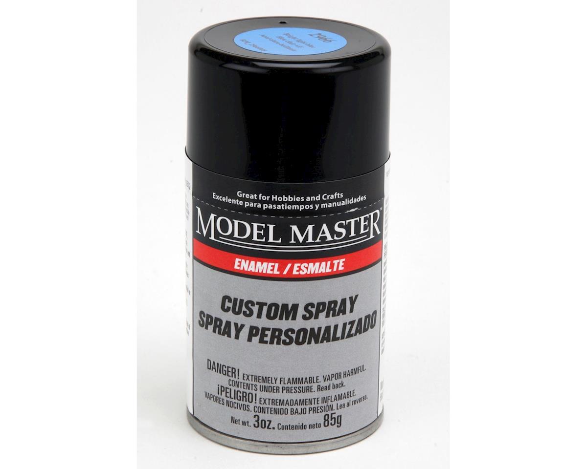 Testors MM 3oz Bright Light Blue Spray (G)