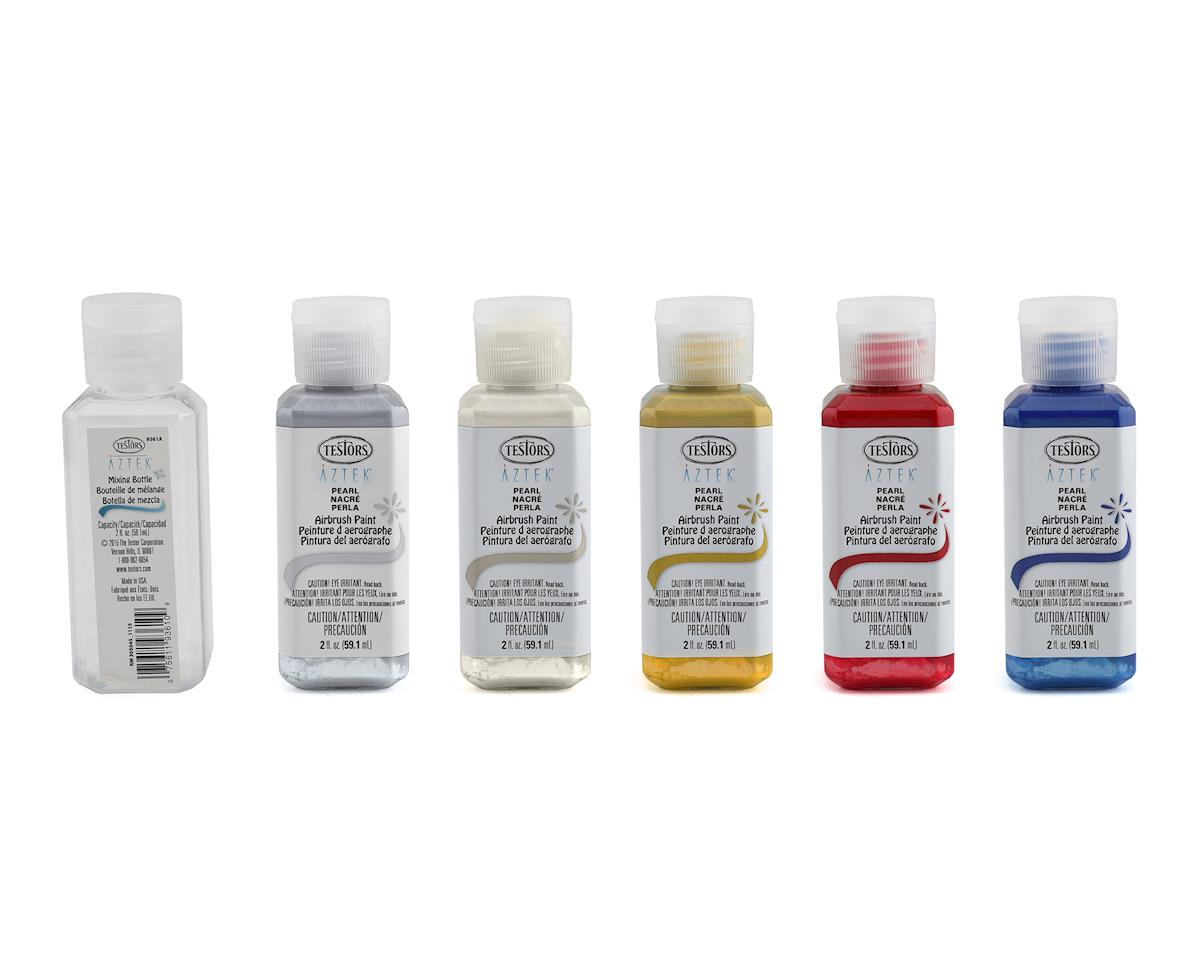 Testors Aztek Pearl Airbrushable Acrylic Paint Set (2oz)