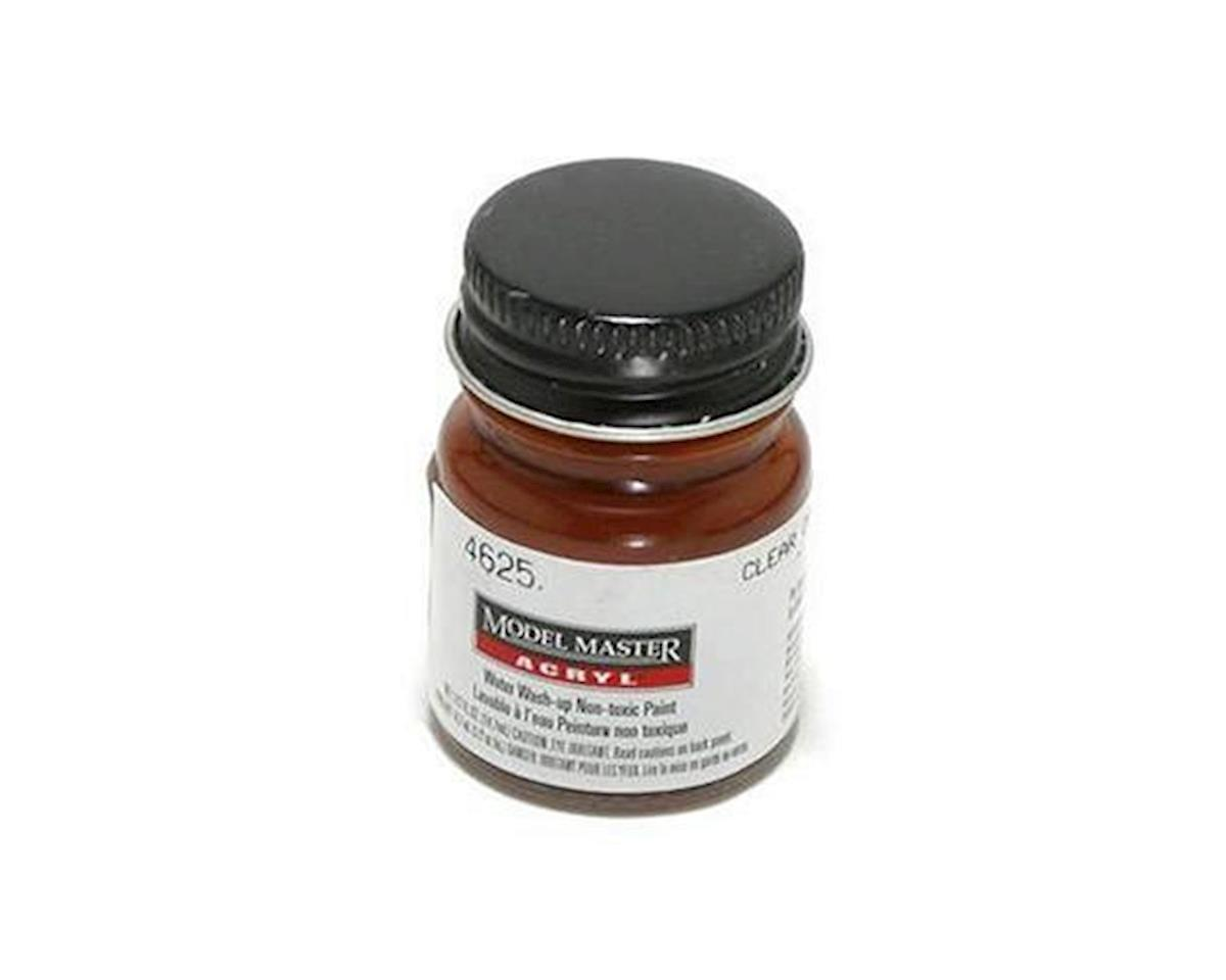 Testors Acryl Gloss 1/2oz Clear Orange