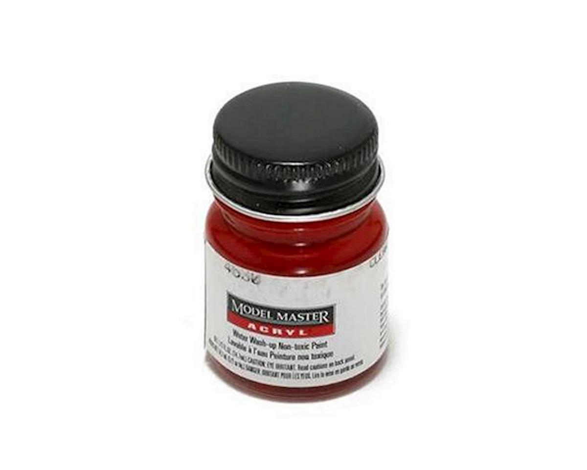 Acryl Gloss 1/2oz Clear Red by Testors