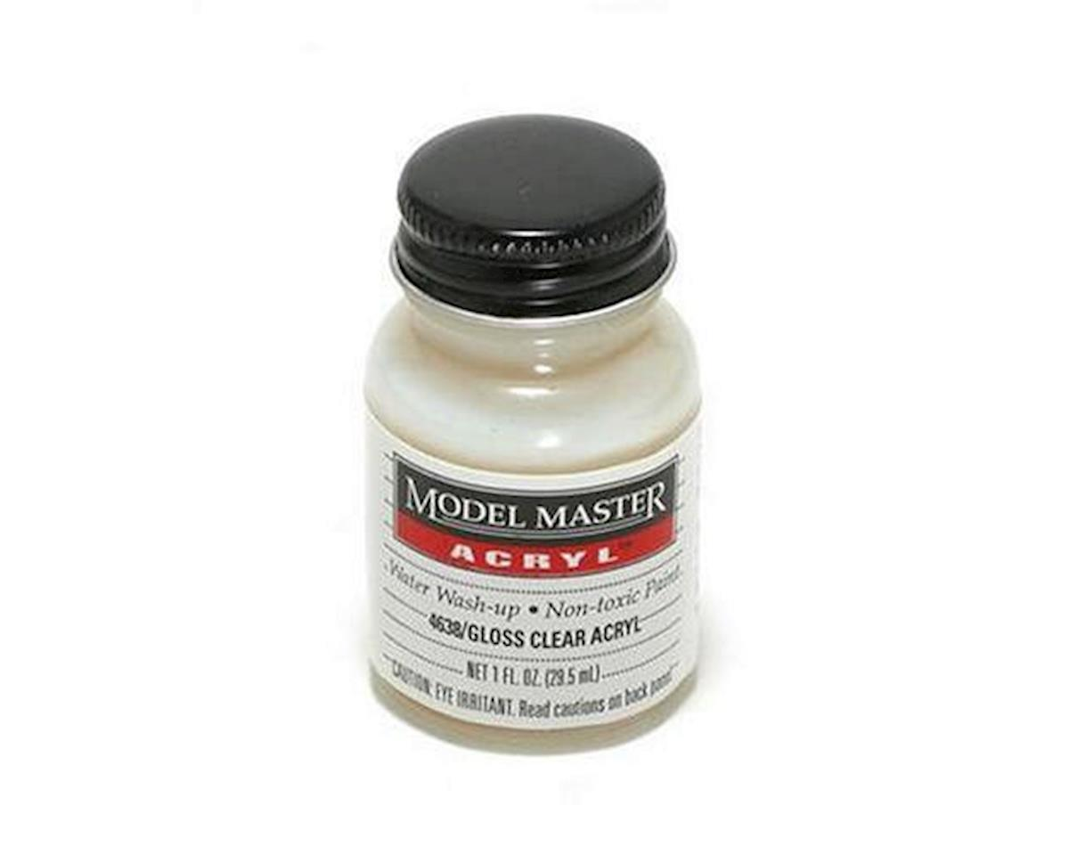 Acryl Gloss 1oz Clear Semi-White by Testors