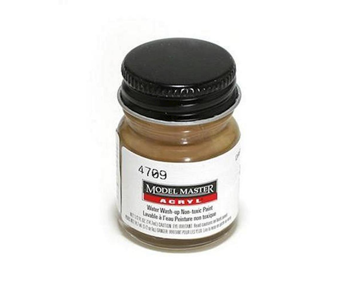 Acryl Flat 1/2oz Dark Tan by Testors
