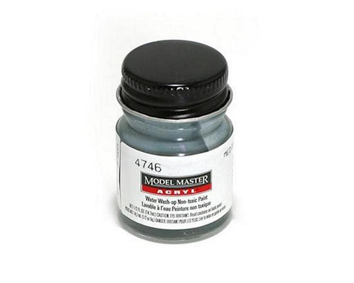 Testors Acryl Flat 1/2oz Medium Gray